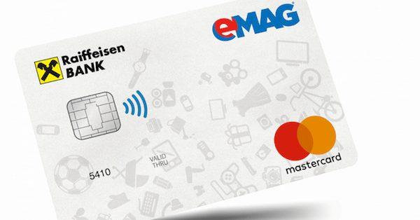 Card de credit Raiffeisen eMag