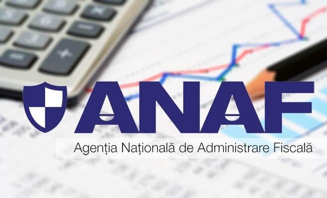 ANAF - Cont online - Spațiul Prival Virtual