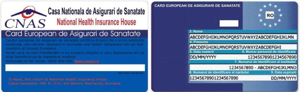 Cardul European de Sanatate