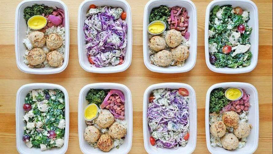 Plan alimentar sala