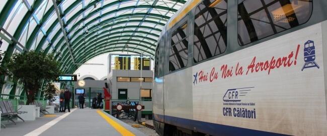 Tren Aeroport Otopeni Gara de Nord
